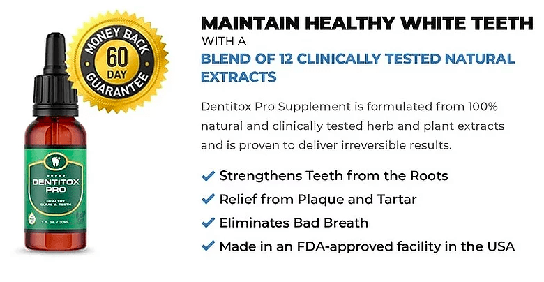 dentitox pro features